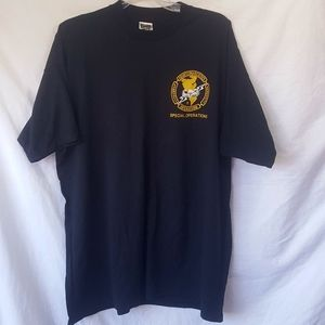 Counter Narcotics Operation Badge Tee
